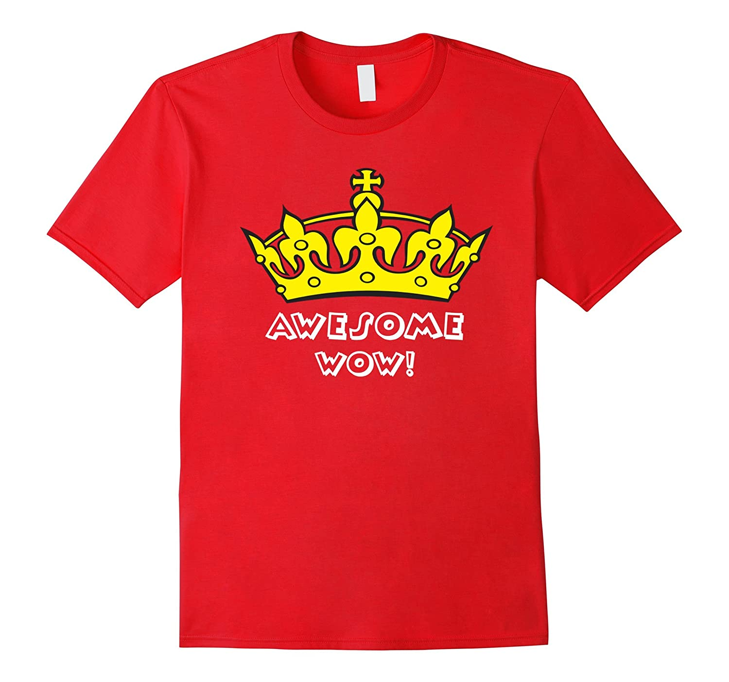 Awesome Hat Of King Wow T-shirt For You