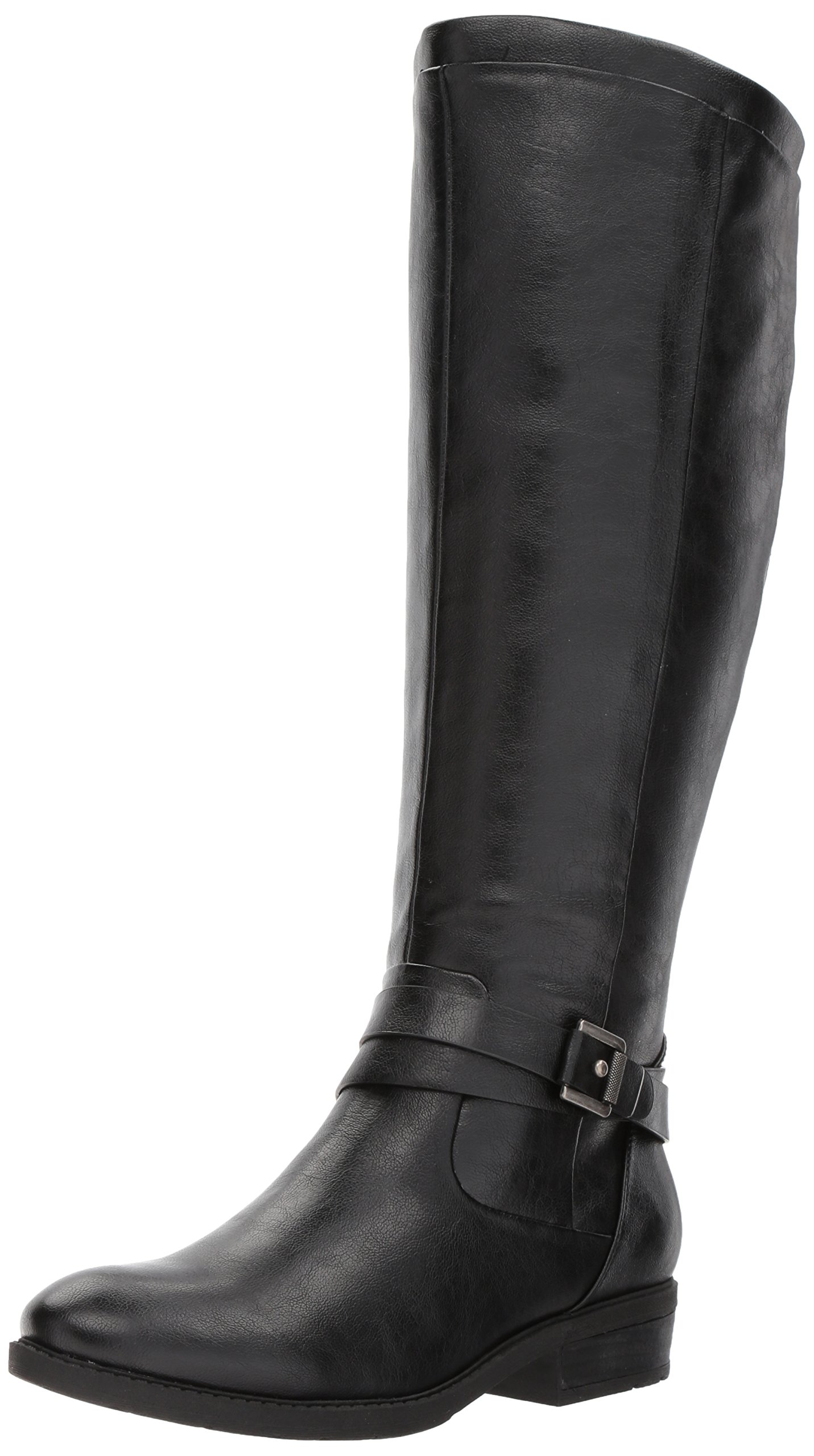 BareTraps Women's Bt Yvonna Riding Boot, Black, 8 US/8 M US