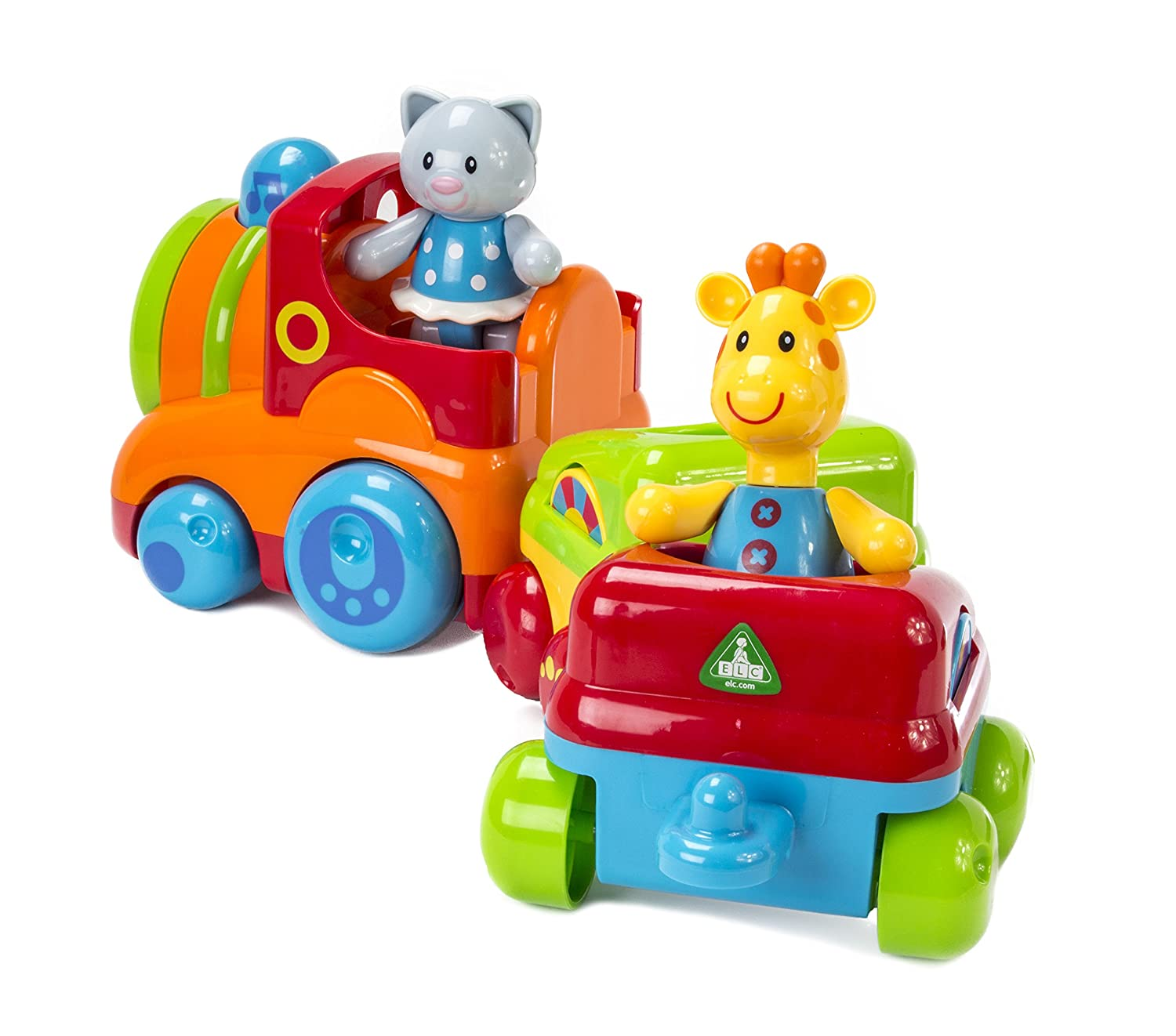 Amazon.com: Early Learning Centre Toybox Musical Animal Train Baby ...