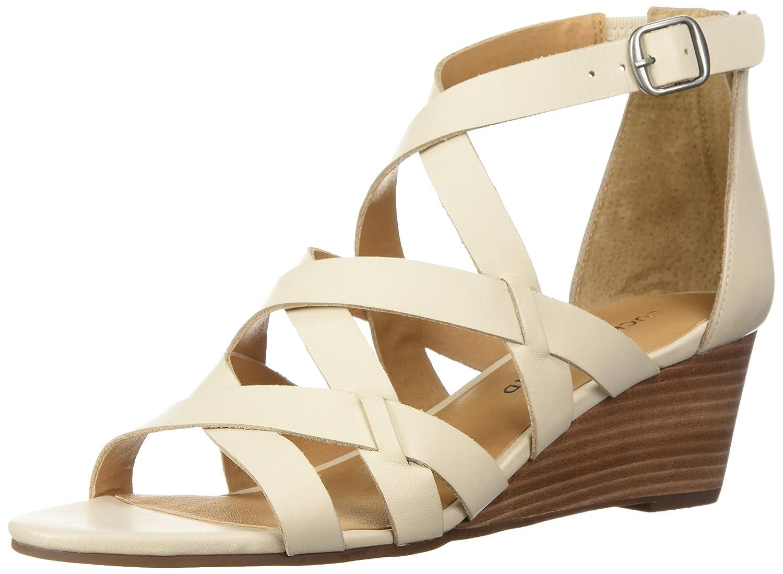 [Lucky B077TCV551 Brand] Women's US Jewelia Wedge Sandal [並行輸入品] B077TCV551 6.5 6.5 B(M) US|Sandshell Sandshell 6.5 B(M) US, オストゥーニ(インテリア雑貨):5ca3e73d --- cq37820.tmweb.ru