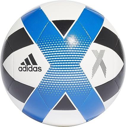 adidas F1806TSB053 X Glider Soccer Ball, White/Black/Football Blue ...