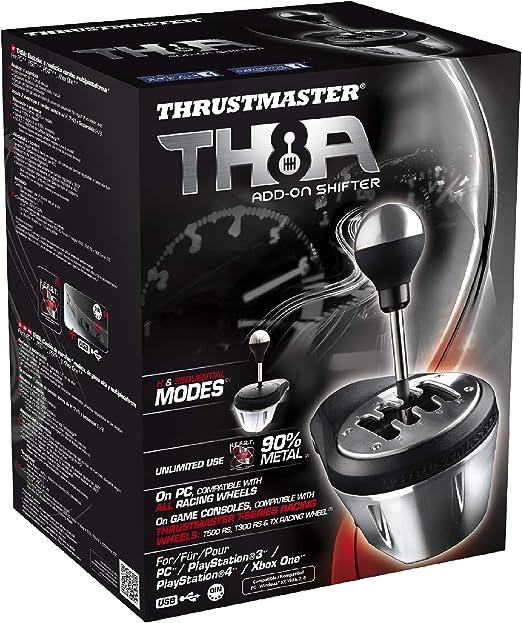 Thrustmaster TH8A - Palanca de cambio, Multiplataforma, Cambio Manual y Secuencial: Amazon.es: Electrónica
