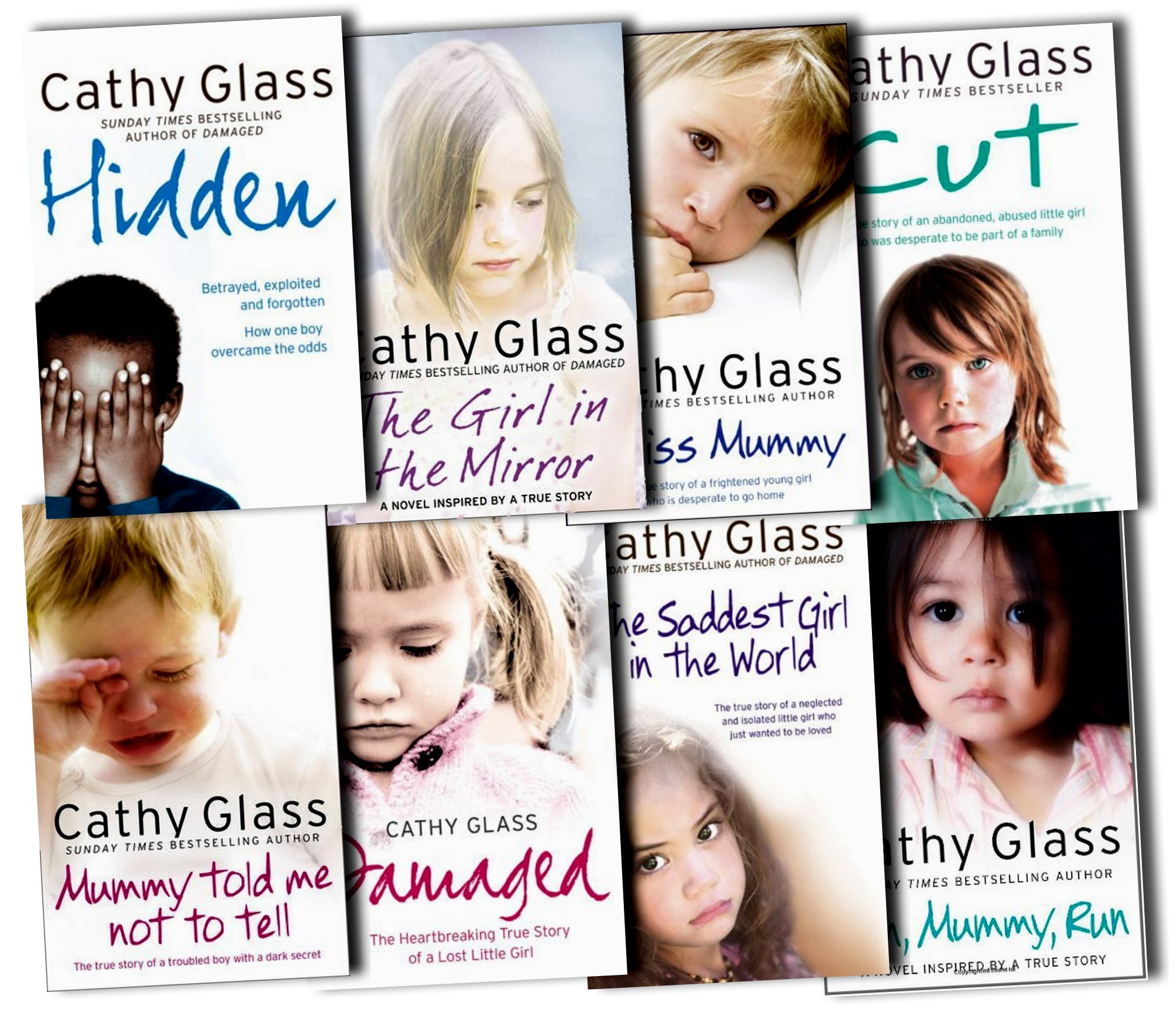Cathy Glass Collection 8 Books Set Pack RRP: £81.76 (I Miss Mummy ...