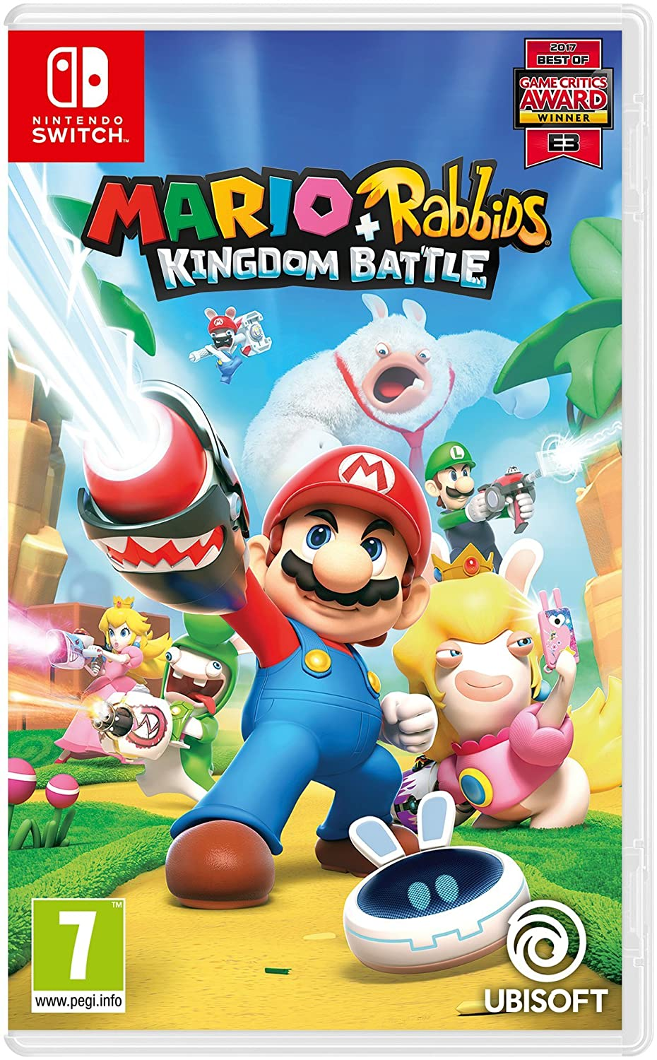 Mario Rabbids Kingdom Battle Nintendo Switch Amazon Co Uk Pc