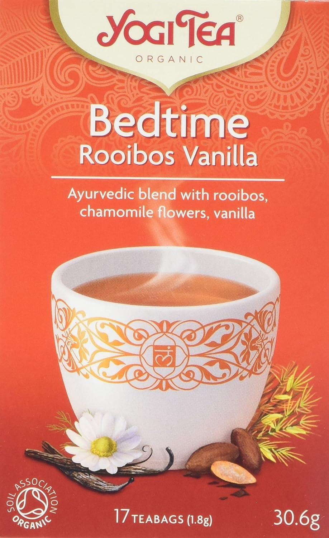 Yogi Tea Org Bedtime Rooibos Vanilla 17 Bag: Amazon.es ...