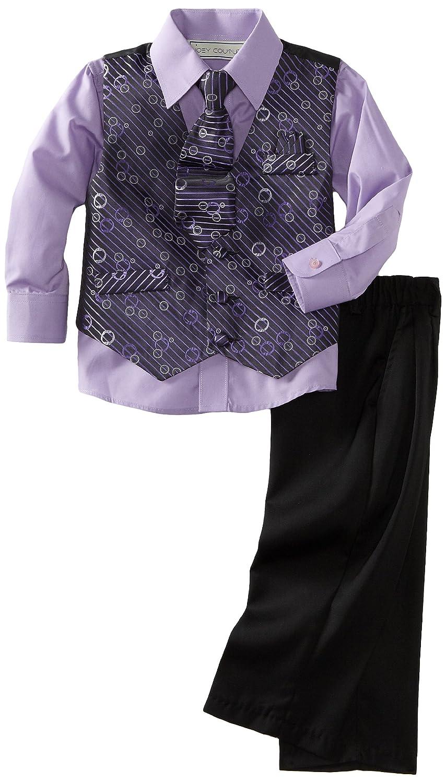 Joey Couture Little Boys Little Diagonal Bubbles Vest Set Joey Couture Boys 2-7 473Y