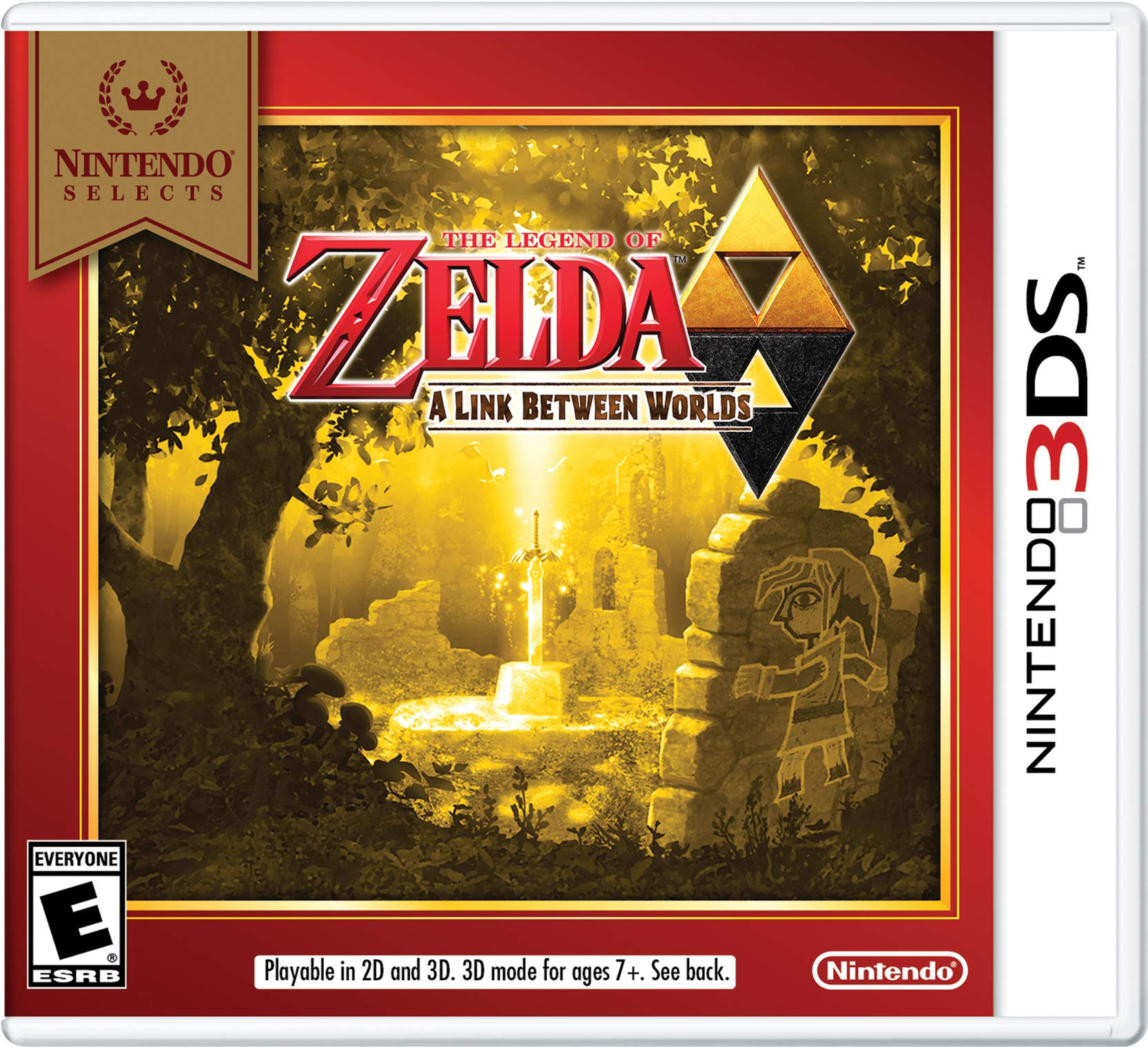 Amazon com: Nintendo Selects: The Legend of Zelda: A Link