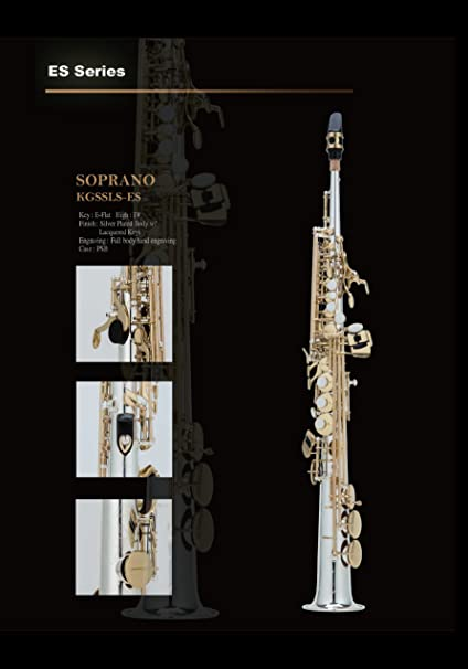 Amazon com: Kenny G B-flat Straight Soprano Saxophone: Musical