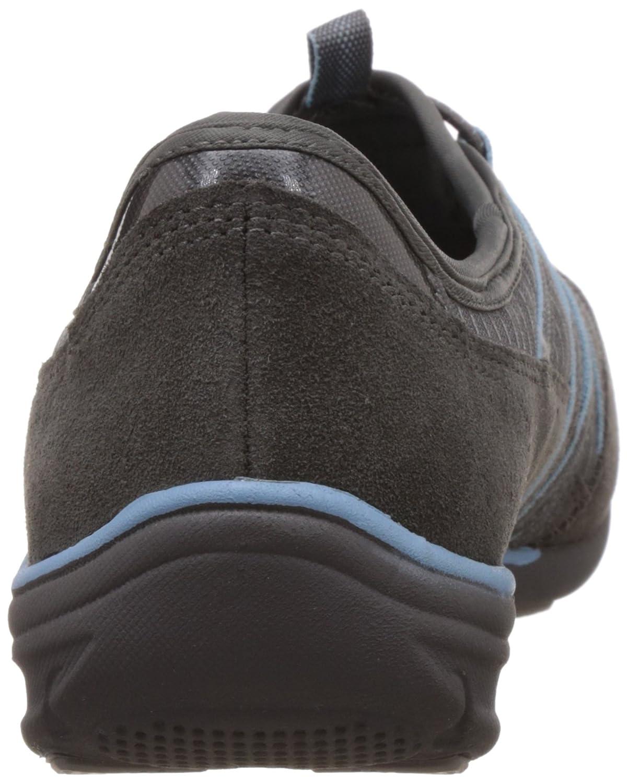 Skechers Sport Women's Conversations Charming Fashion Sneaker B00VQLYNS2 6 B(M) US|Charcoal Light Blue