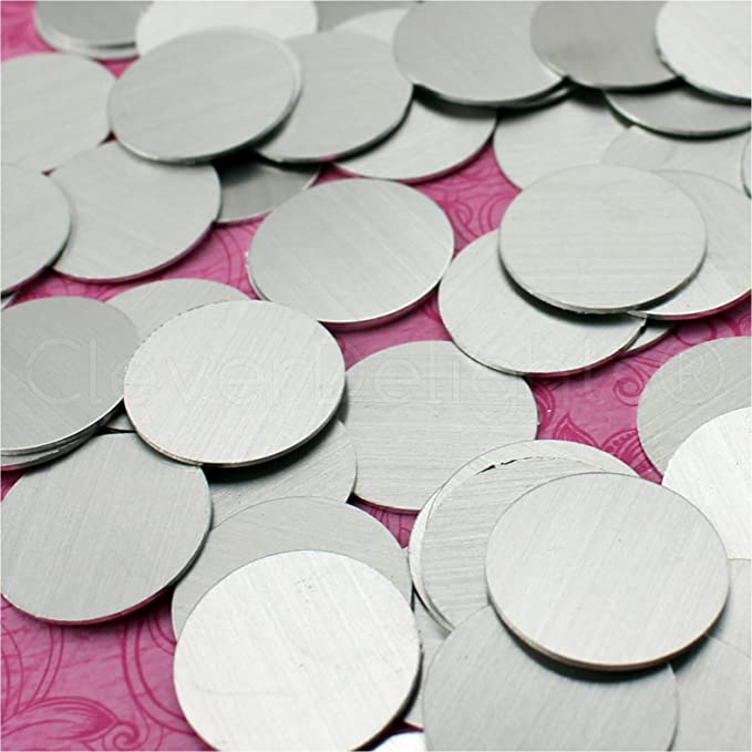 Raw Aluminum Blanks Hand Punched Blanks 78 Medical Cross Stamping Blanks First Aid Blanks Wholesale Blanks Qty 5-100