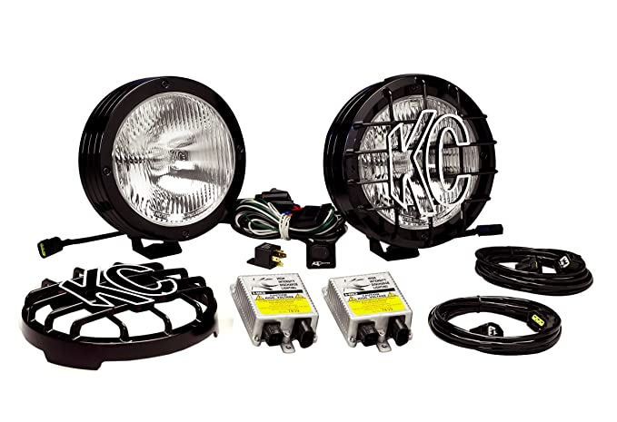 Stupendous Amazon Com Kc Hilites 863 Rally 800 Series Black Coated Stainless Wiring Cloud Hisonuggs Outletorg