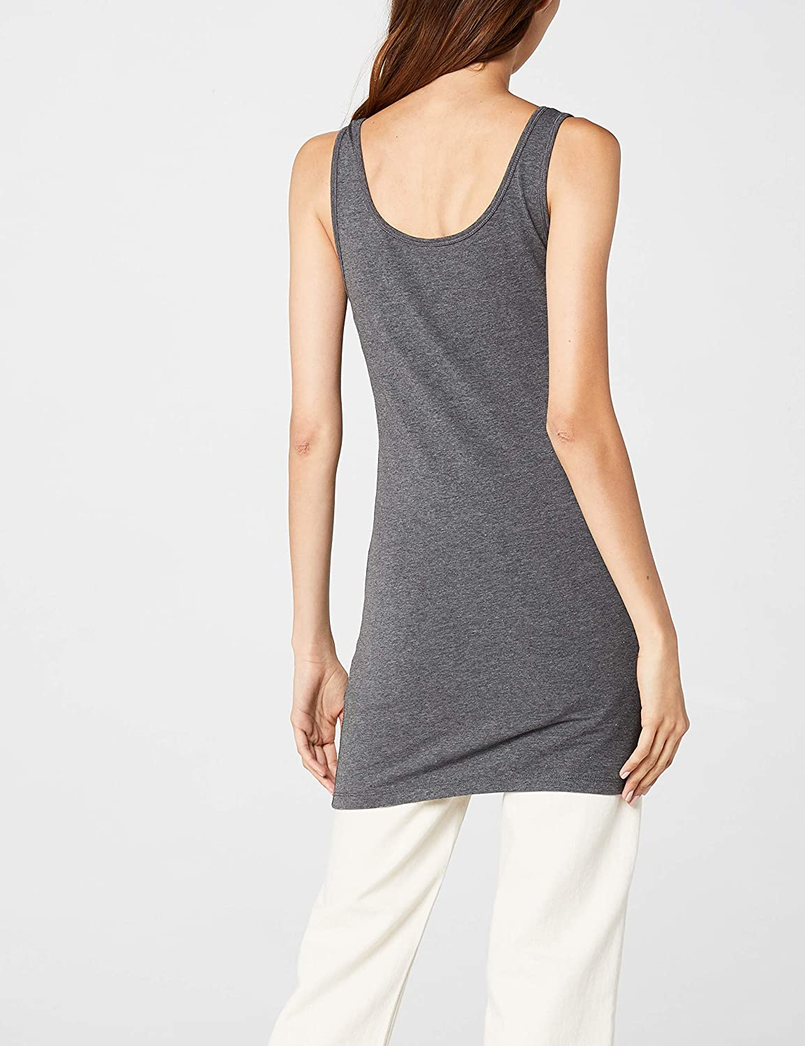 Only NOS Onllive Love Long Tank Top Noos Canottiera Donna
