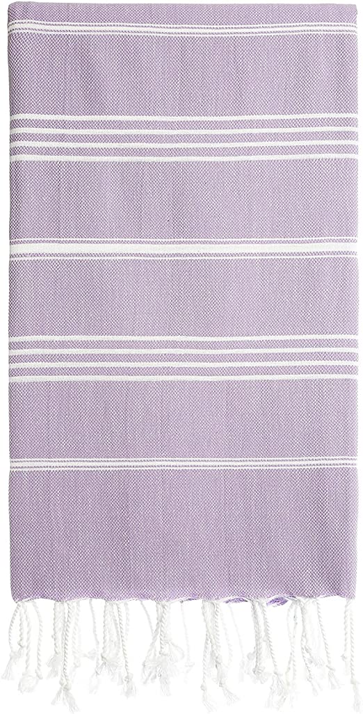 Turkish Peshtemal Fouta Towel Throw Travel Beach Bath Gym Yoga Hamam Lightweight