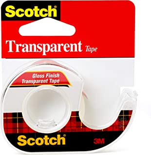product image for Scotch Transparent Tape, 1/2 in x 450 in, 1 Dispenser/Pack (144)