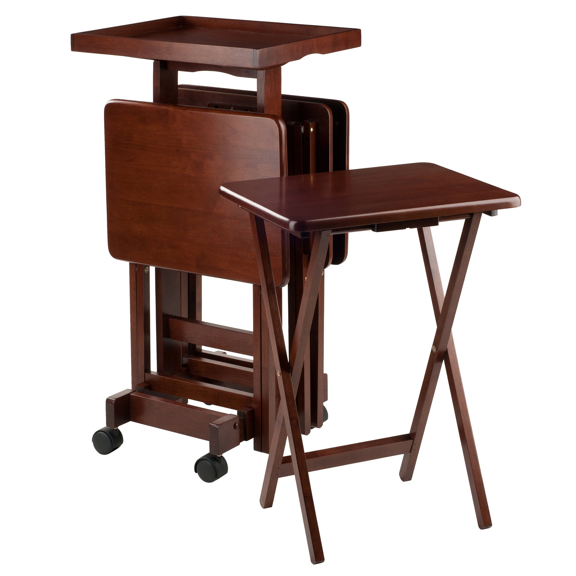 Winsome 94828 Isabelle Snack Table, Walnut by Winsome
