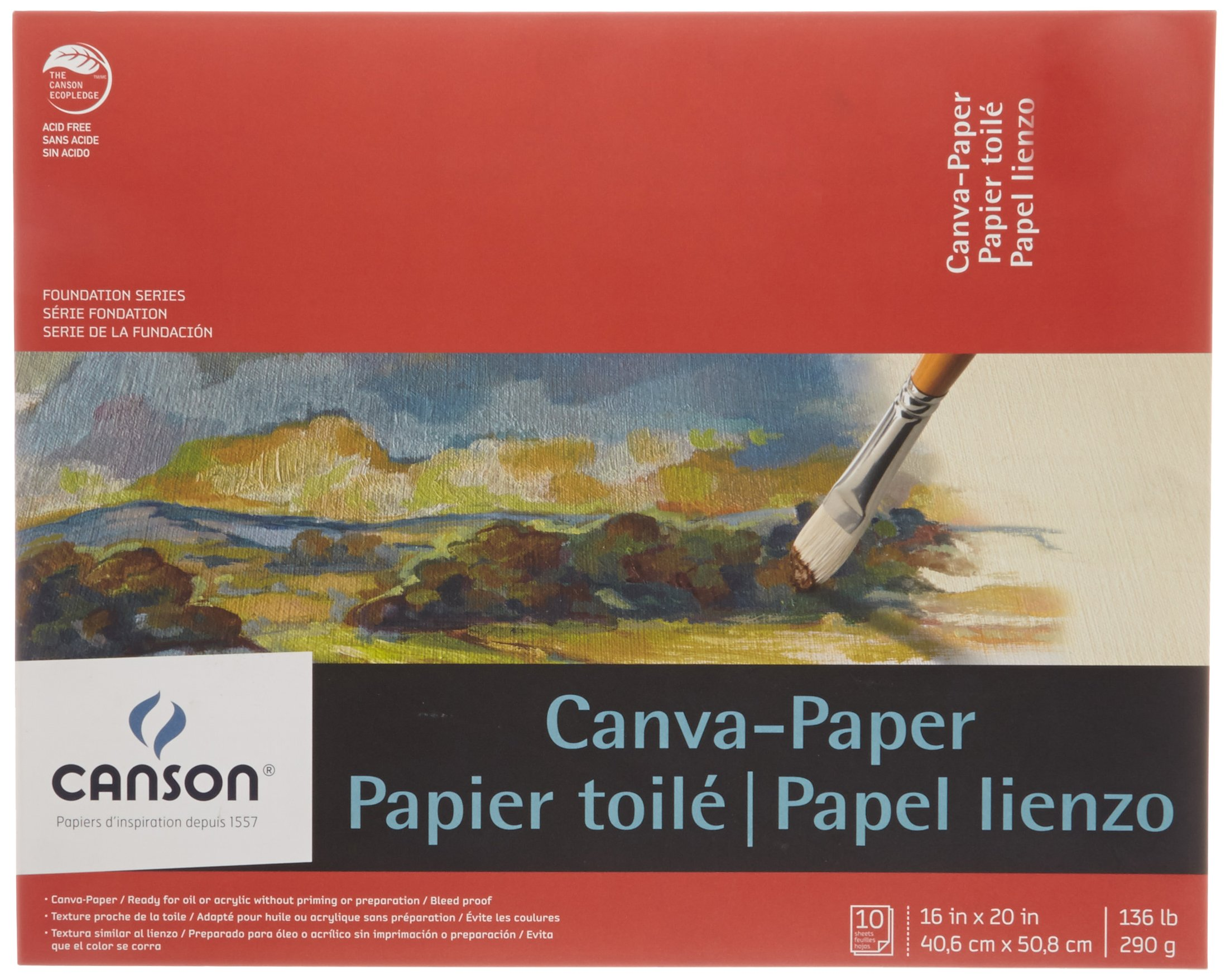 Canson Paper Canvas Pads by Canson