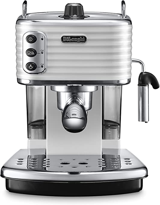 DeLonghi Scultura Cafetera de espresso manual, Independiente, 1.4 ...