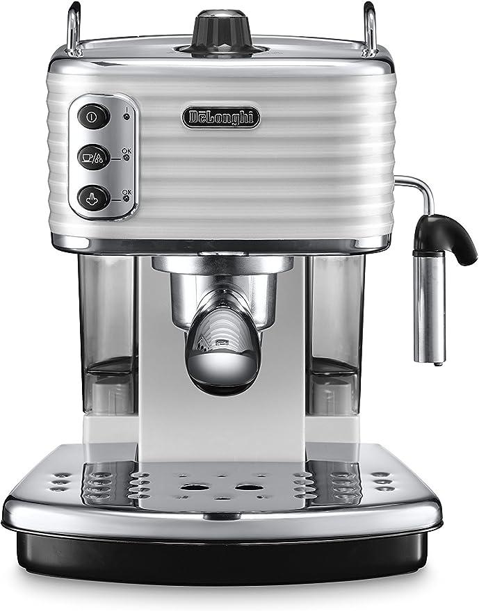 DeLonghi Scultura Cafetera de espresso manual, Independiente, 1.4 ...