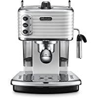 De'Longhi Scultura Pump Espresso Coffee Machine - White, ECZ 351.W