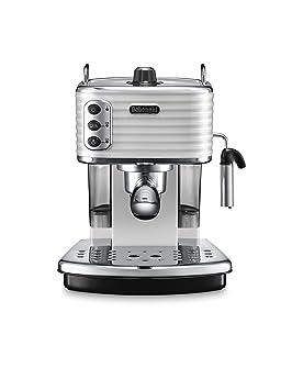 DeLonghi Scultura Cafetera de espresso manual, Independiente, 1.4 L, 15 bares, acero