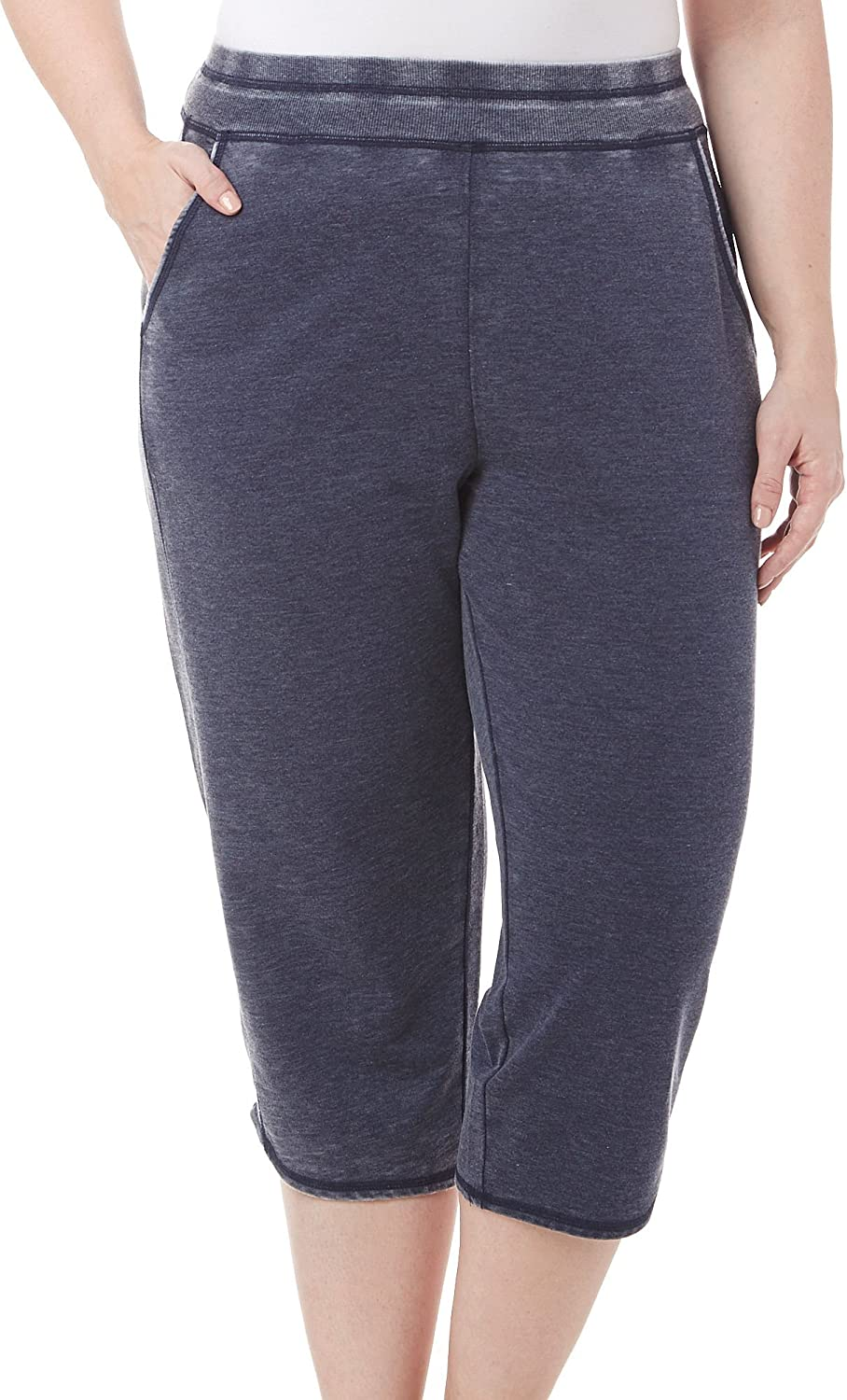 Brisas Plus Pull On French Terry Capris