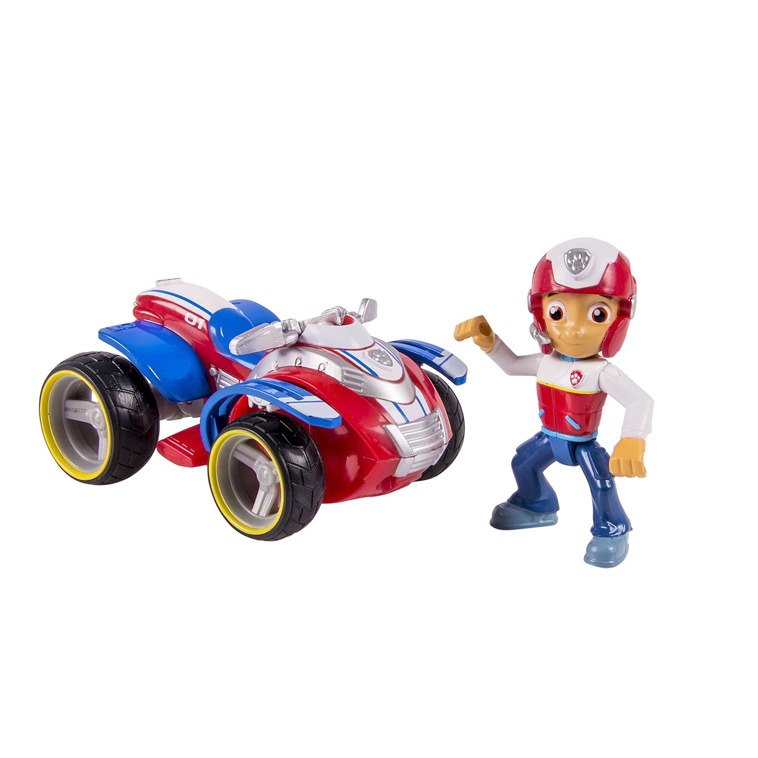 Paw Patrol 20063724-6024006 Ryder's Rescue ATV, Vehicle and Figure, Multicolor