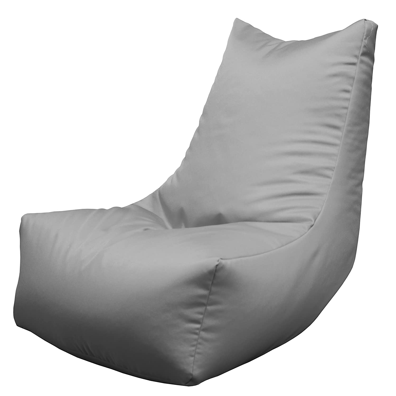 Magnificent Lounger Chair Gaming Bean Bag Indoor Outdoor Beanbag Grey Machost Co Dining Chair Design Ideas Machostcouk