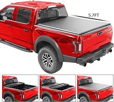 Premium Soft Tri Fold Tonneau Cover Fit 09 18 Dodge Ram 1500 5 7ft 68 Short Bed Truck Bed Accessories Auto Parts And Vehicles Hadafbook Ir