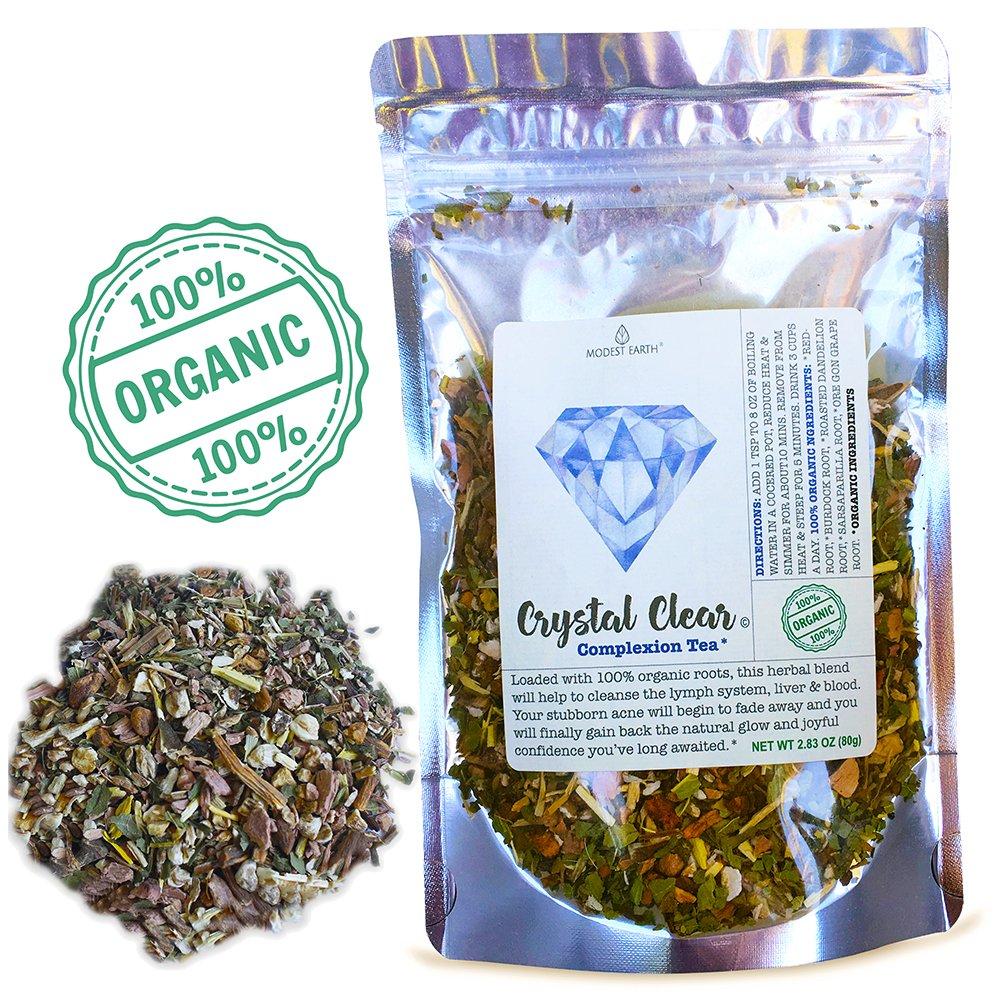 Amazon Com Modest Earth Beauty Detox Tea 100 Organic