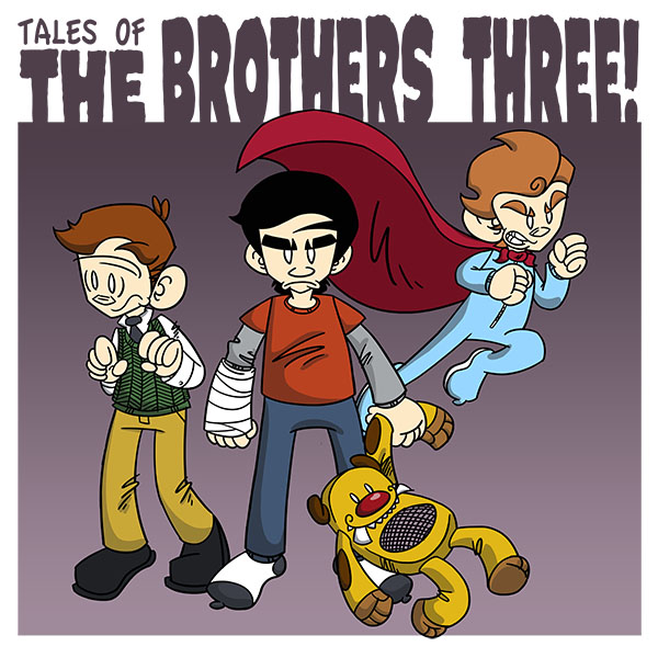 Tales of The Brothers Three (Issues) (2 Book Series)