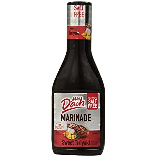Dash Salt-Free Marinade, Sweet Teriyaki, 12 Ounce (Pack of 6)