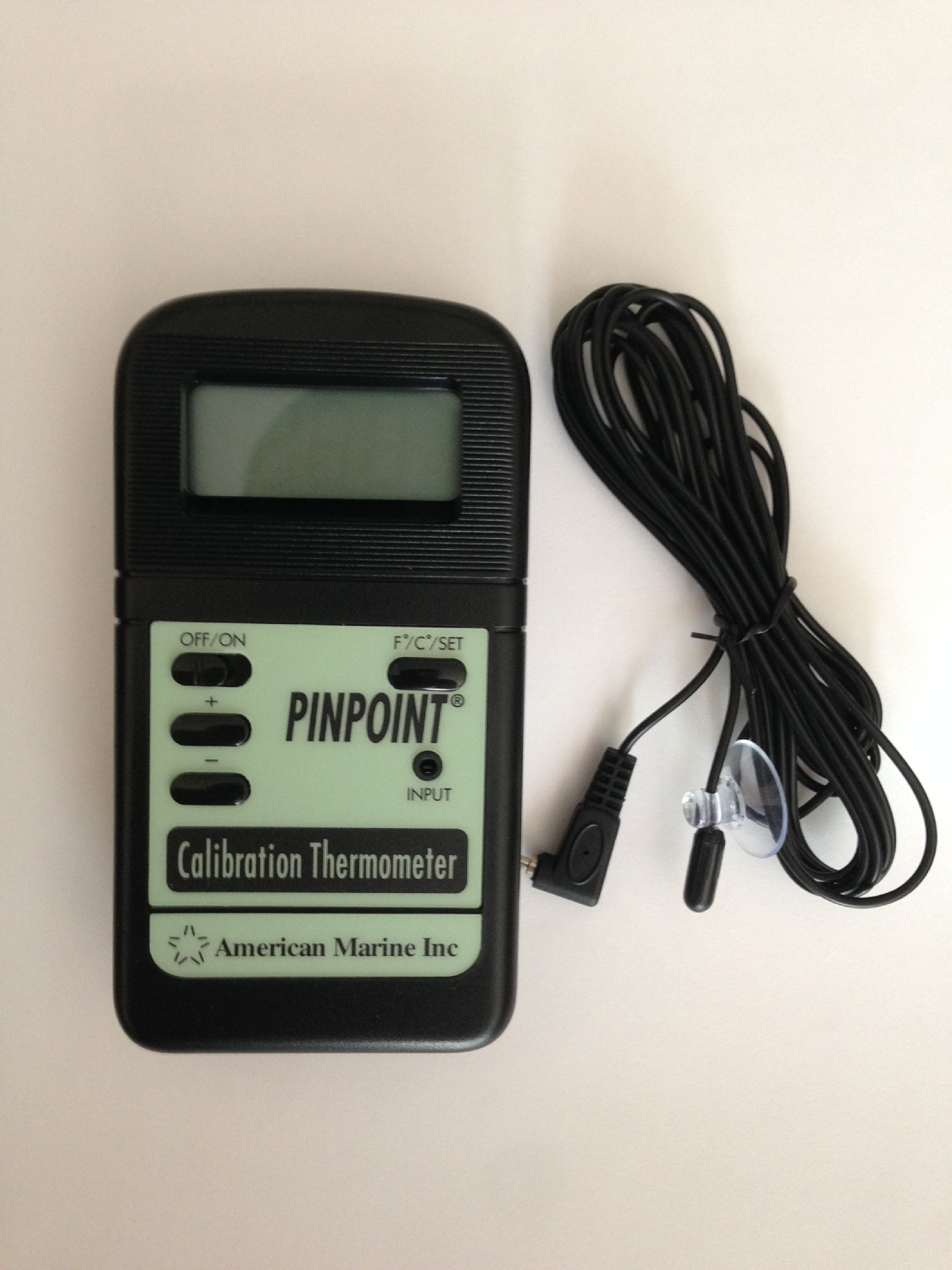 Pinpoint American Marine Calibration Thermometer - Aquarium Temperature by Pinpoint
