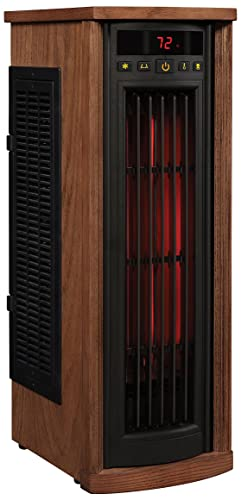 Duraflame 5HM8000-O142 Portable Electric Infrared Quartz Oscillating Tower Heater