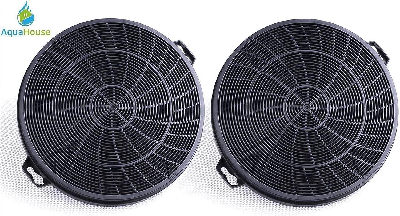 2 filtros de campana AquaHouse compatibles con carbón para FAR, Fagor, Faure y varias marcas de filtro de campana extractora de 210 mm (CHF02F): Amazon.es: Grandes electrodomésticos