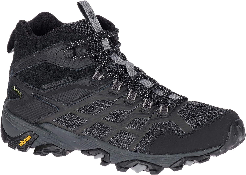 Merrell Moab FST 2 Mid GTX schuhe damen All schwarz 2019 Schuhe