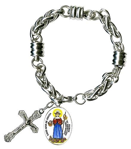 My Altar Santo Nino De Atocha, Protection from Danger & Cross Steel 7