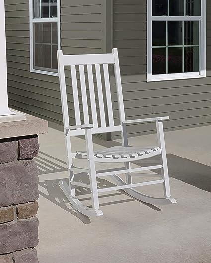 Admirable Jack Post Knollwood Porch Rocker White Creativecarmelina Interior Chair Design Creativecarmelinacom