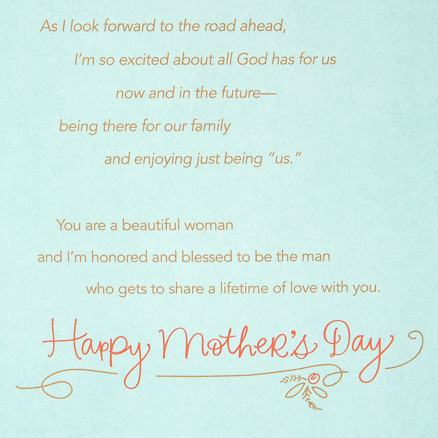 Amazon Dayspring Mothers Day Greeting Card For Wife Honored