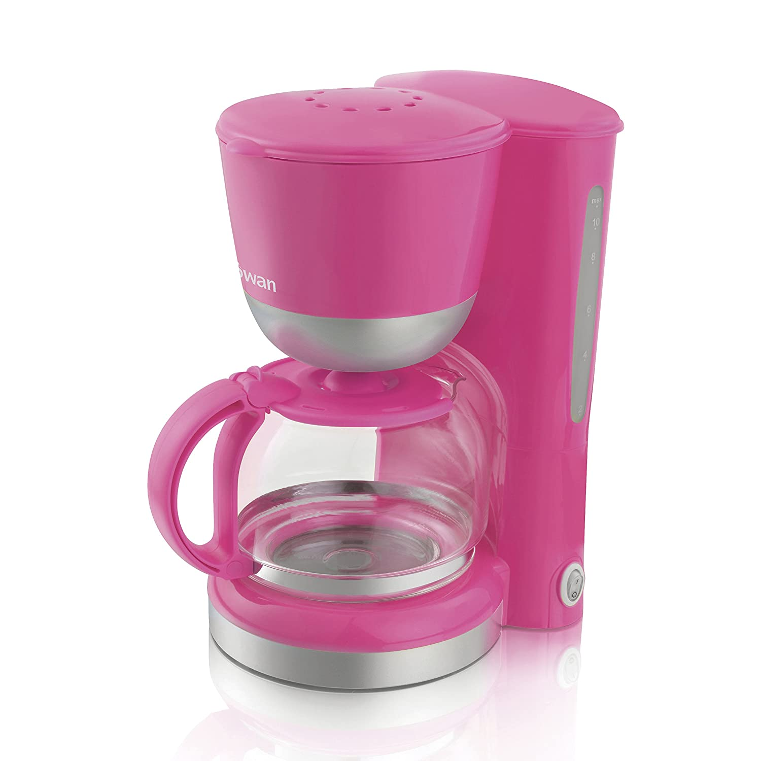 Pink Small Kitchen Appliances Swan Coffee Maker Pink Amazoncouk Kitchen Home