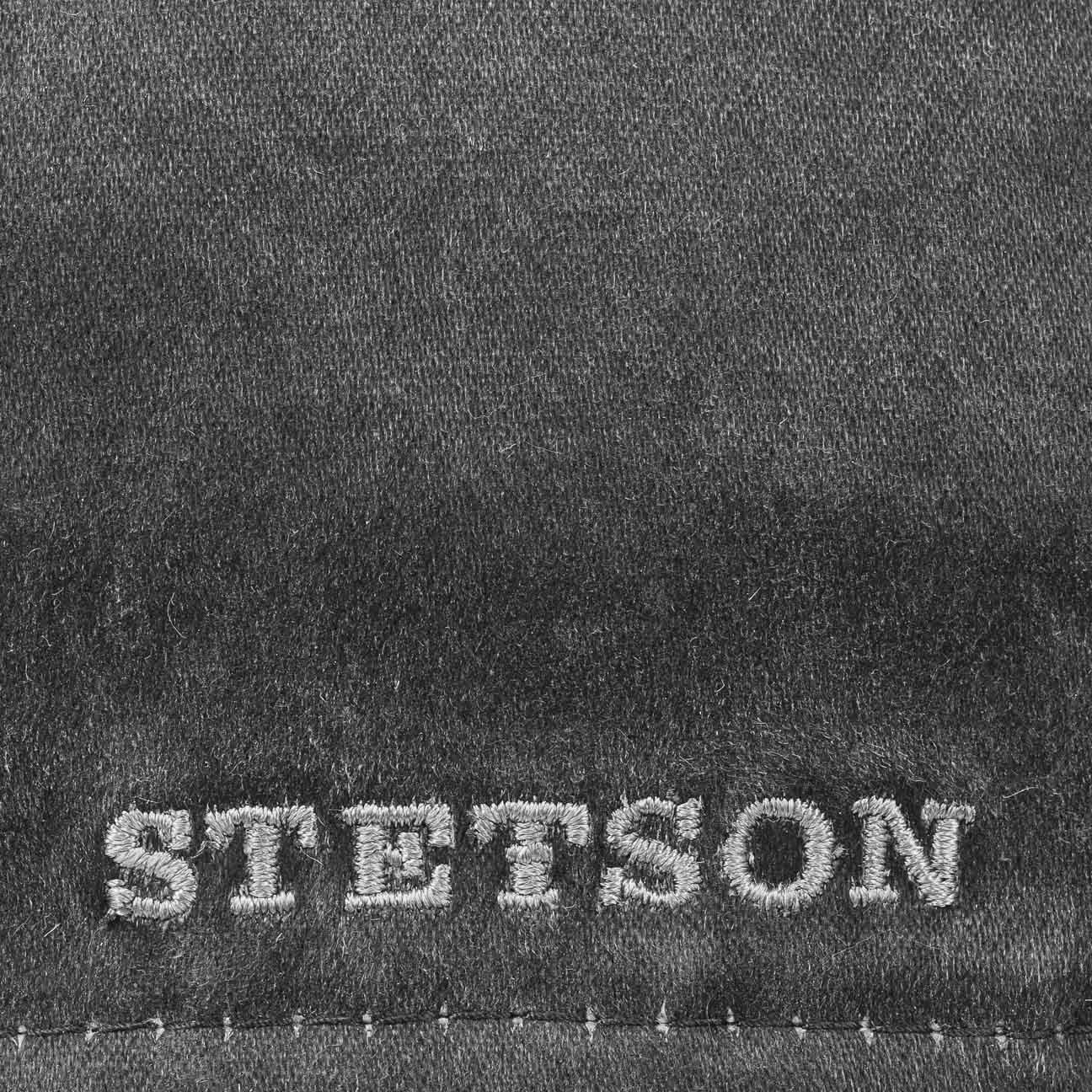 Stetson Level Distressed Cotton Duckbill Flat Cap at Amazon Mens Clothing store: