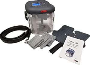 EKLA AquaCold Cold Therapy Machine- Digital Display Cryotherapy Great for Pain, ACL Rehab, Knee Injury, Therapy, Hip, Joints, Back, and More- Complete Kit with Large Wearble Cuff
