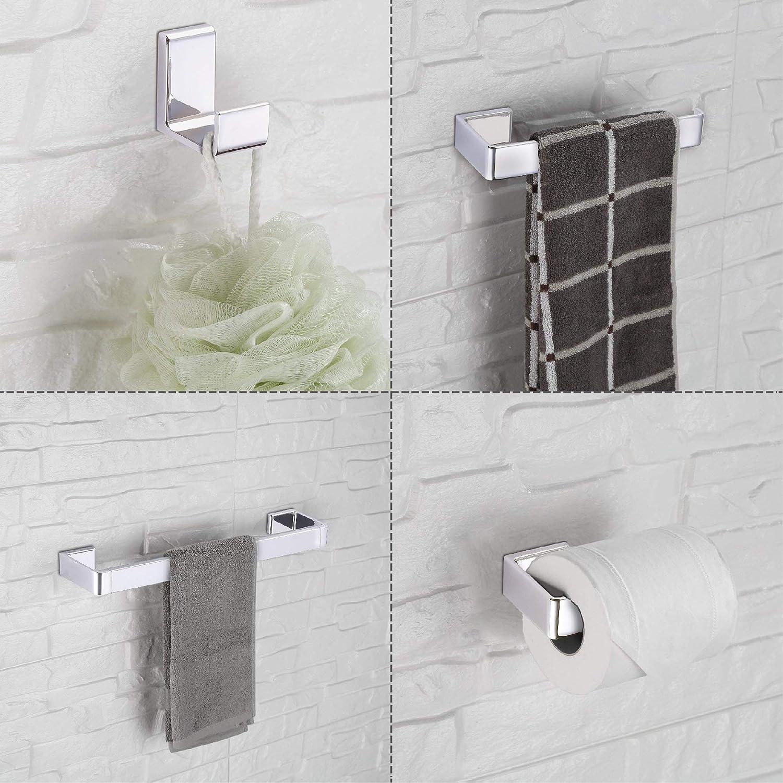 Amazoncom Cloudy Bay Towel Bar Setsbathroom Hardware Accessories