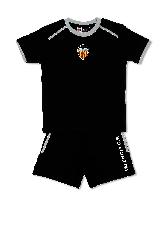 Licencias Pijama F:C:Valencia Negro 6 años (116 cm): Amazon.es: Ropa y accesorios