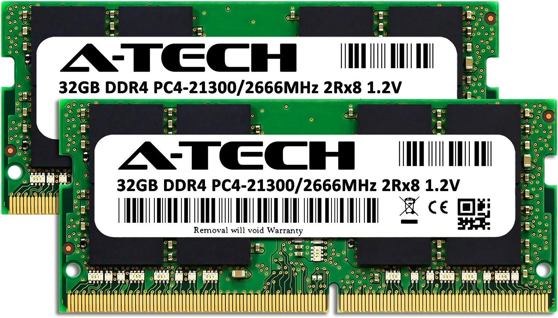 A-Tech 16GB Kit for Intel S2600WTTR Server Memory Ram AT370443SRV-X2R1 2 x 8GB DDR4 PC4-21300 2666Mhz ECC Registered RDIMM 1rx8