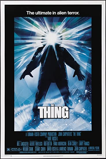 Image result for the thing movie poster 1982