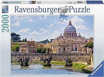 Ravensburger Puzzles The Bridge of Angels Rome, Multi Color (2000 Pieces)