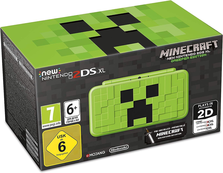 New 2DS XL Minecraft Edition + Minecraft (preinstalado): Nintendo: Amazon.es: Videojuegos