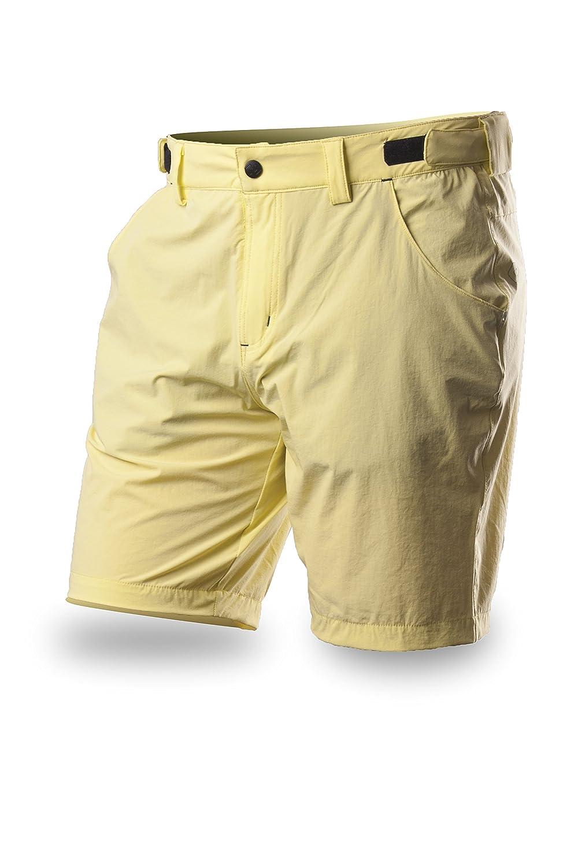 812f56fb7750ca Trimm pantaloncini da uomo Amber, Uomo, Shorts Amber, Giallo limone, L 49945