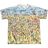 21eb7d22e4 Trevco Waldo Beach Scene Youth or Boy's Front Only Sublimated T Shirt