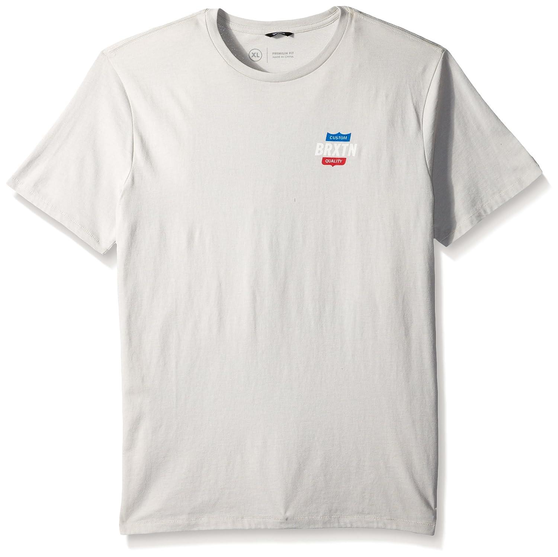 563702757e Amazon.com: Brixton Men's Garth Short Sleeve Premium Tee: Clothing